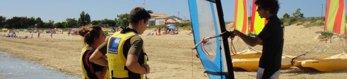 Cours Planche A Voile Venez Profiter De L Air Marin Cnpa